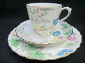 Lovely TUSCAN china trio - ART DECO